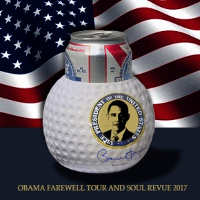 Obama spends 2.8 billion dollars on souvenir foam balls for his 2017 Farewell Tour and Soul Revue